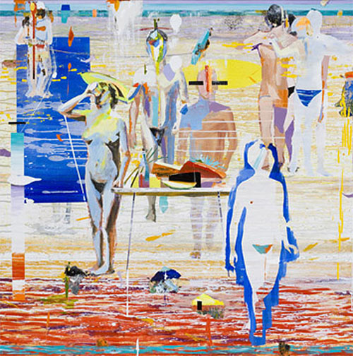 Pintor español Alfonso Albacete - agua