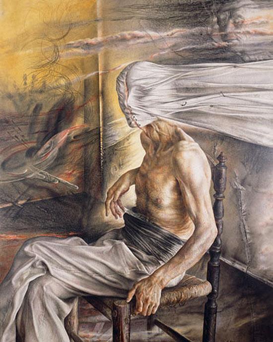Pintor español Eduardo Naranjo