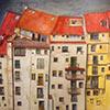 Las casas como protagonistas en la pintura y el dibujo