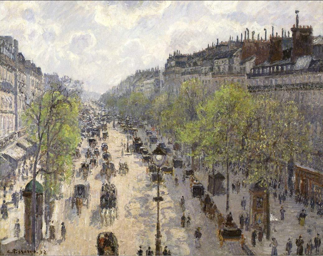 Boulevard de Montmartre, de Pizarro