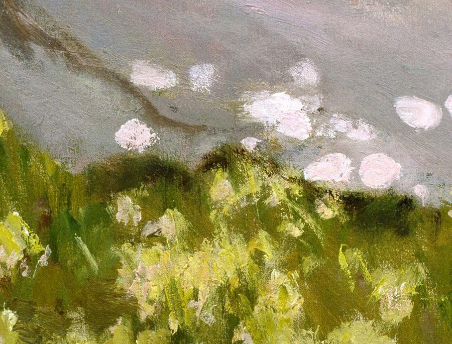 Tiempo de primavera, de Monet,