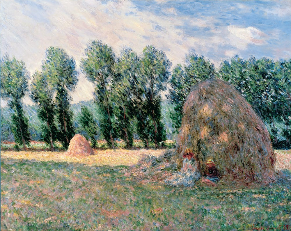 Haystacks, de Monet,