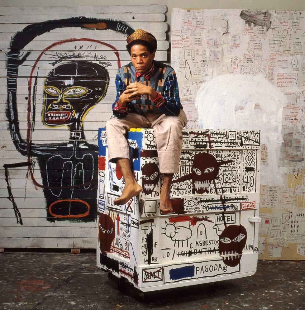 Fotografía de Jean Michel Basquiat