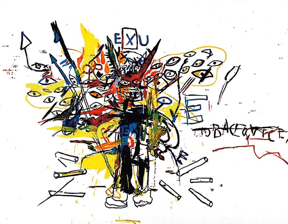 Exu de Jean Michel Basquiat