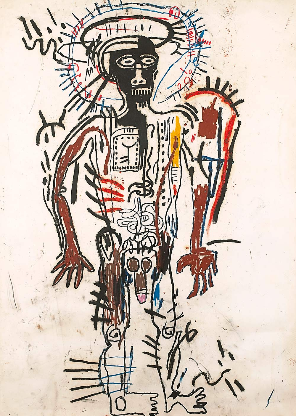 Gran cabeza de Jean Michel Basquiat