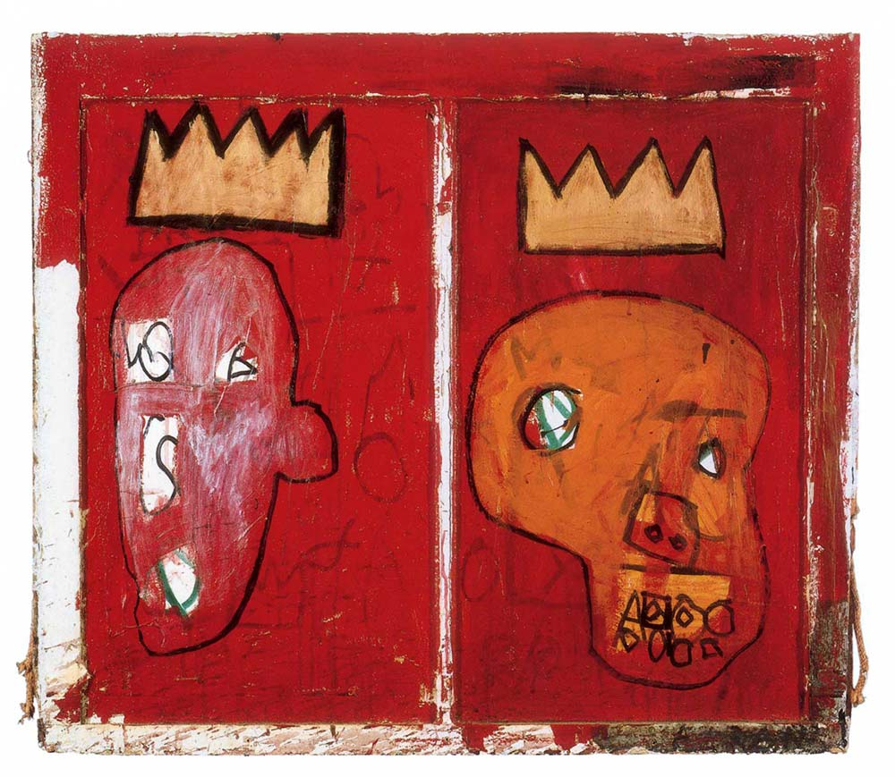 Red Kings de Jean Michel Basquiat