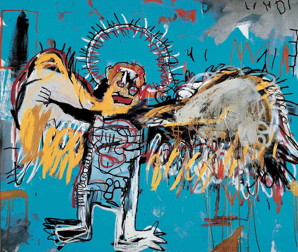 Fallen Angel de Jean Michel Basquiat