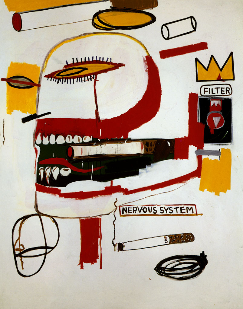 Philistines  de Jean Michel Basquiat