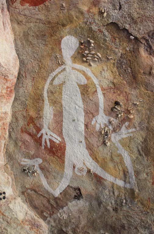 Figura femenina en el Arte australiano