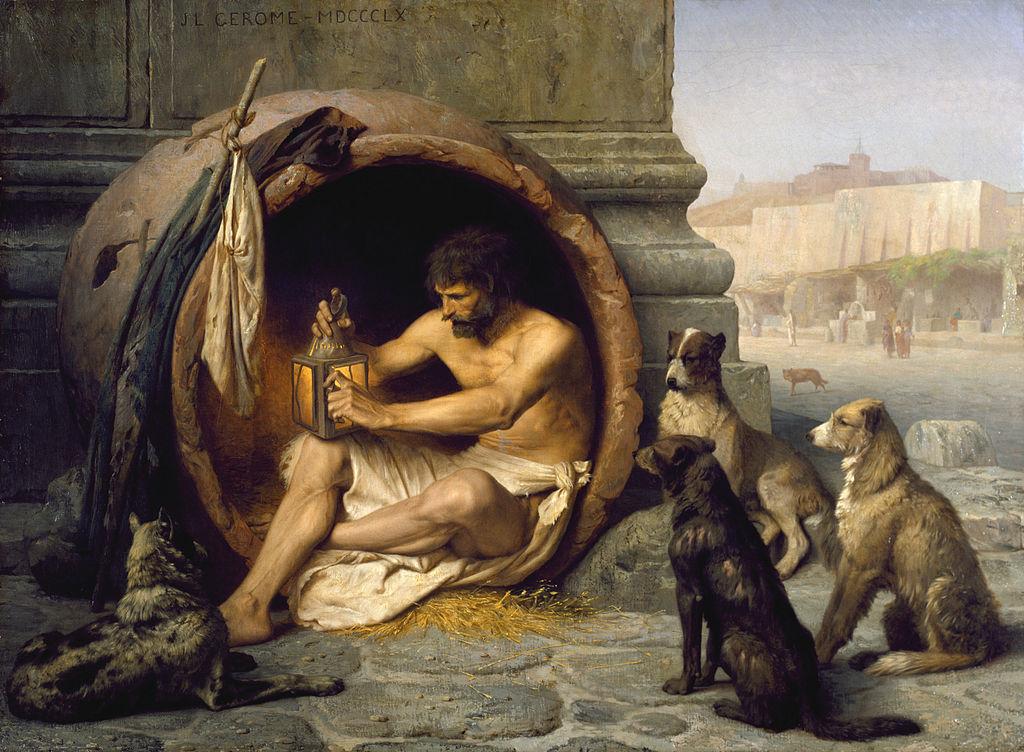 Diógenes de Jean-Léon Gérôme
