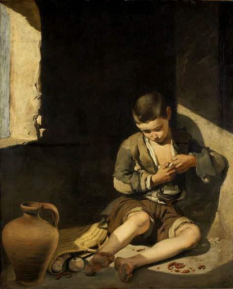 Joven mendigo de Murillo