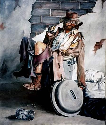La Compasión Del Artista Pintar La Pobreza Y La Escasez Pintura Y