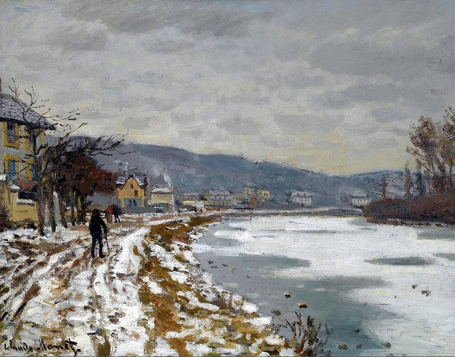 El río Sena por Bougival