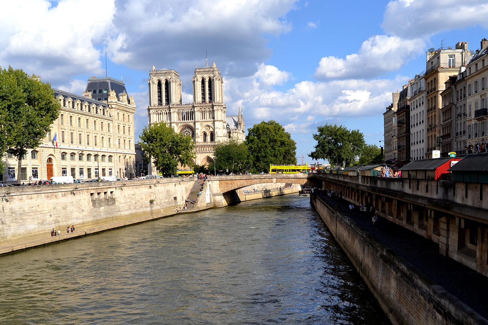Fotografías del río Sena