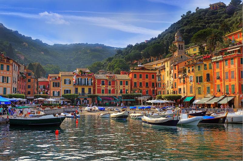 Fotografía de Portofino, Italia.