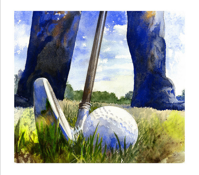 Golf de Andrew King