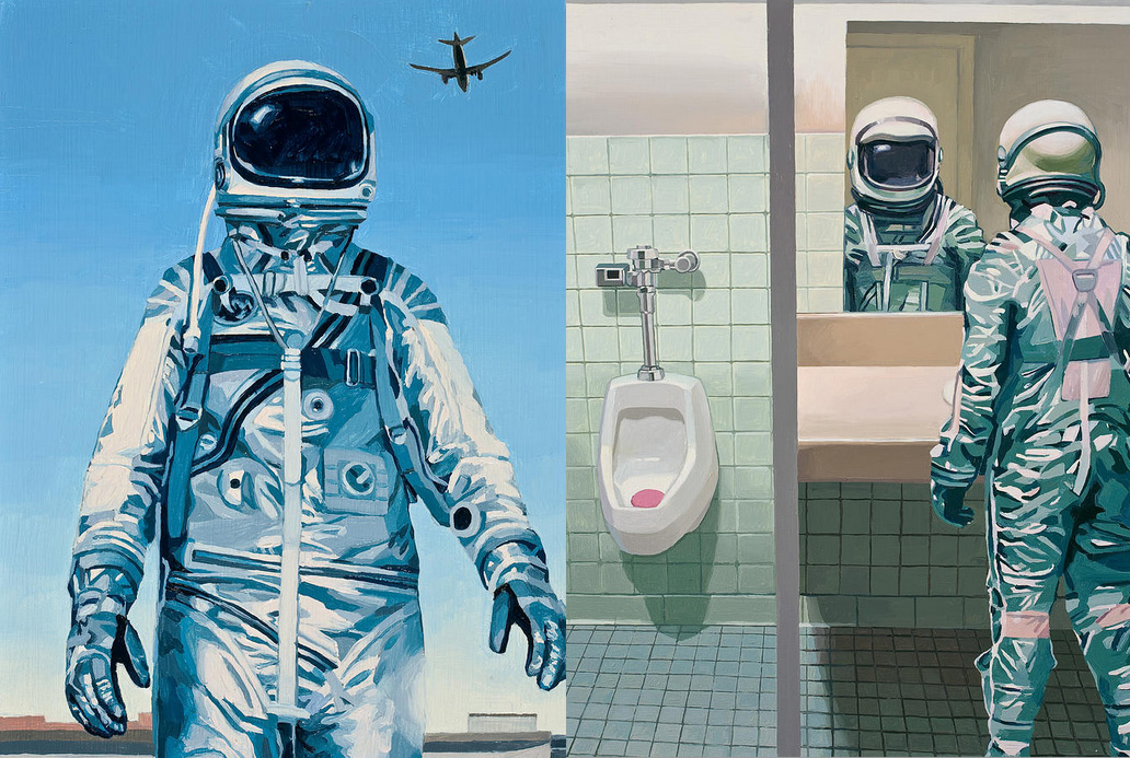 Astronauts by Scott Listfield