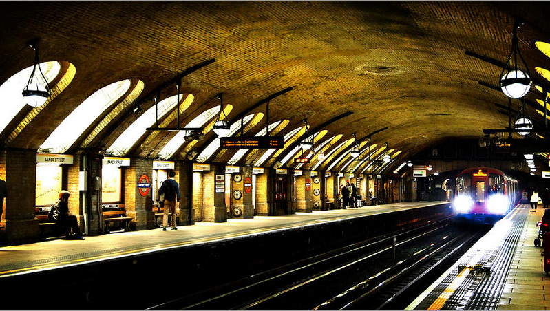 Mark Rogan, Baker Street London Underground