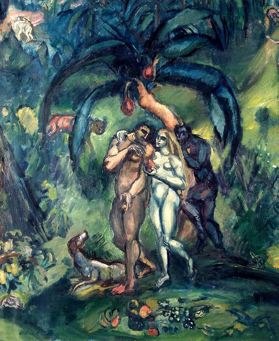 Adán y Eva de Friesz Othon