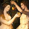 Pintar a Adán y Eva