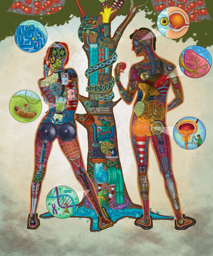 Adán y Eva de Omar Andres Penagos