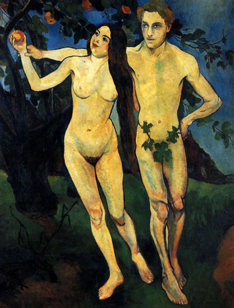 Adán y Eva de Suzannne Valadon