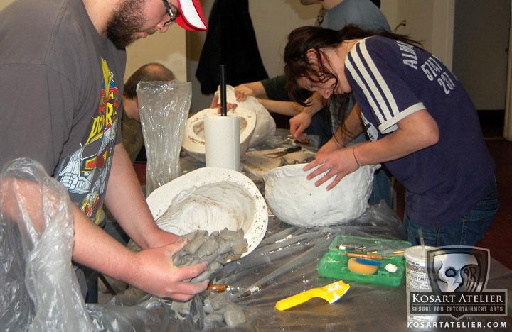 Creación de una máscara de látex