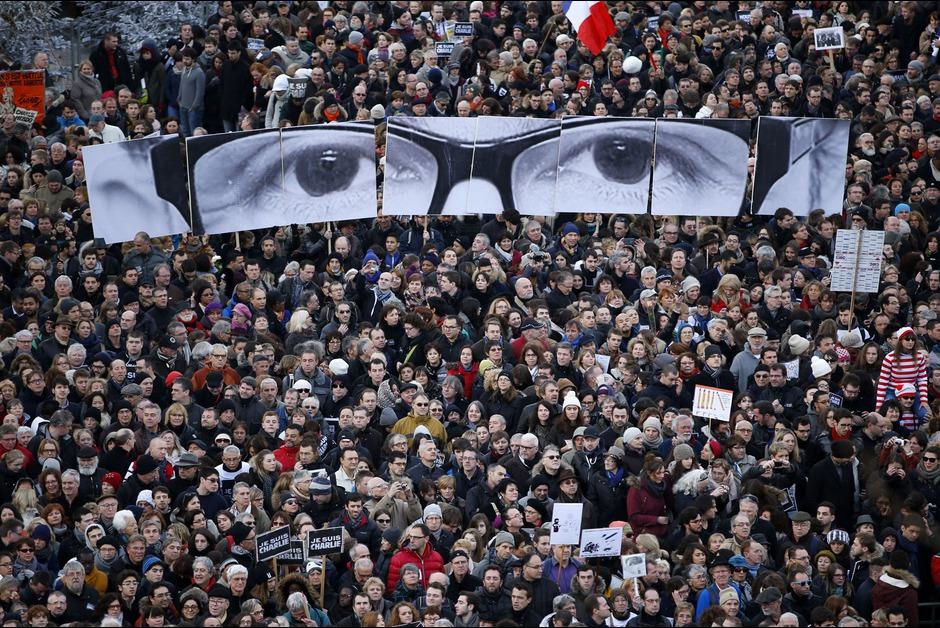 Homenaje a Charlie Hebdo