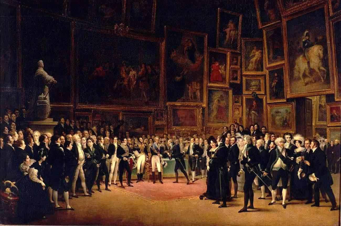 Exposición del Salon de París 1824