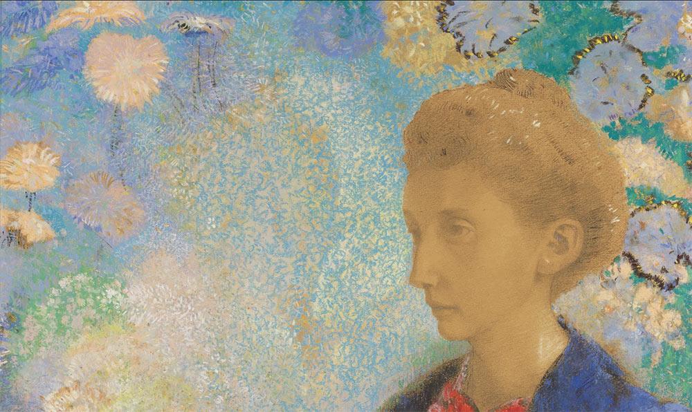 Baronesa Domecy, de Odilon Redon