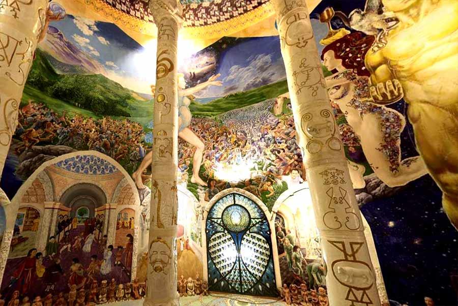Sala de la tierra, Templos de la humanidad de Damanhur