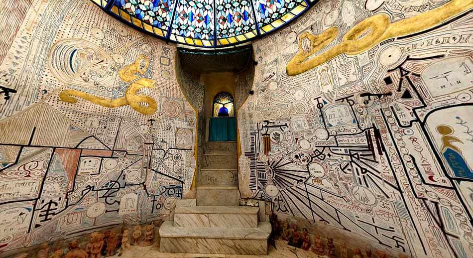 Sala del agua, Templos dela humanidad de Damanhur