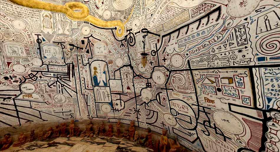 Sala del agua, Templos de la humanidad de Damanhur