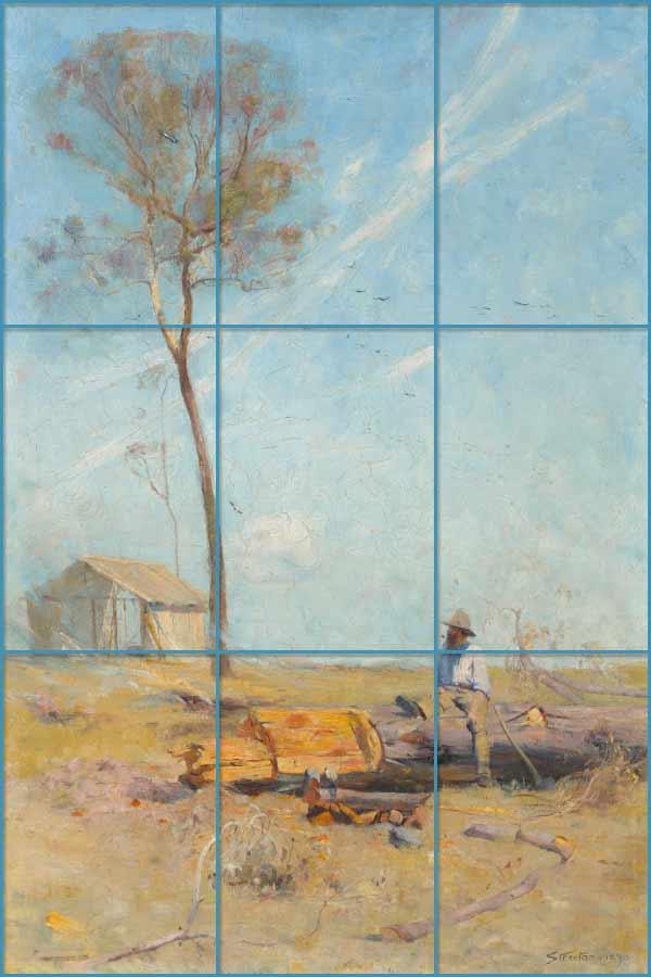 Pintura de Arthur Streeton