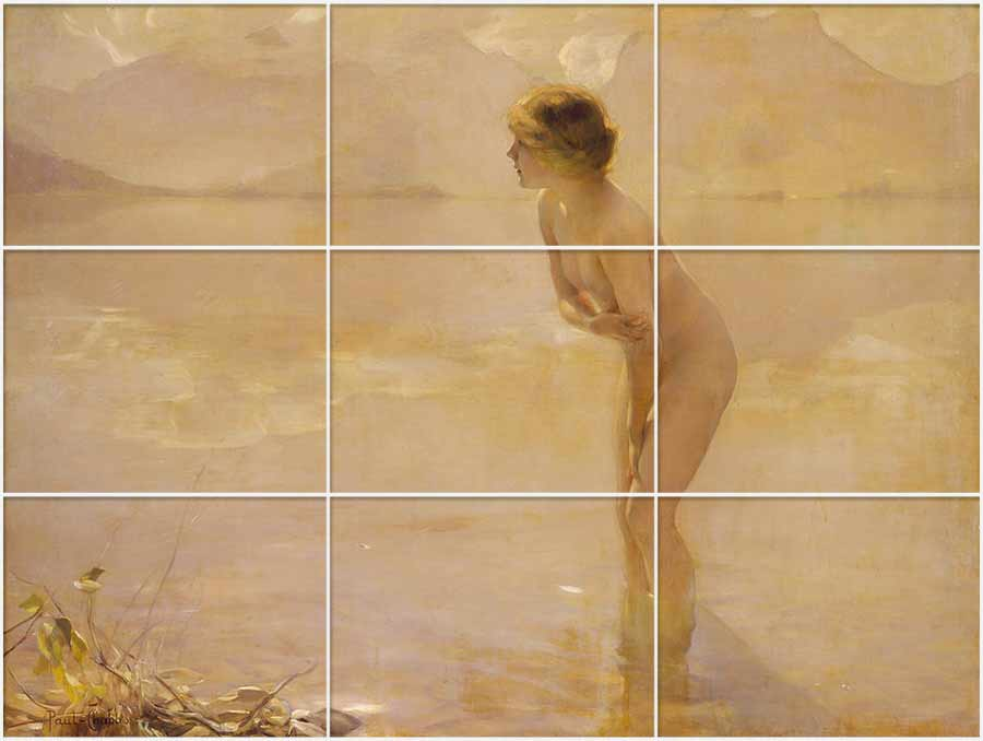 Painting by Paul Chabas