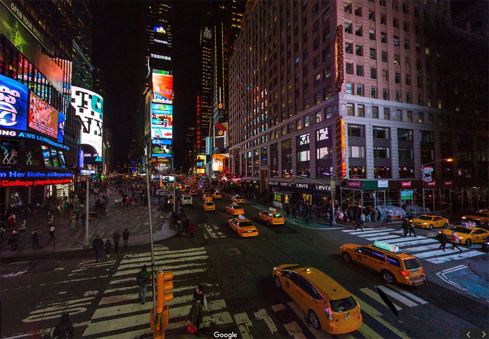 Nueva York en Google Maps