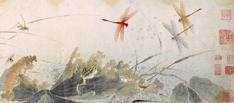 Qian Xuan, otoño temprano.