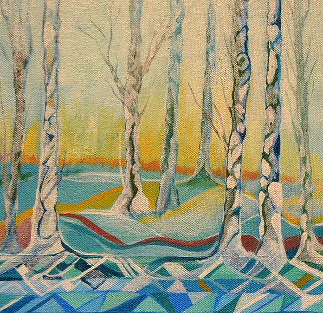 Pintura  al óleo de Cristina Alejos