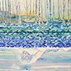Pintura Aire-Agua-Tierra: El sendero del río