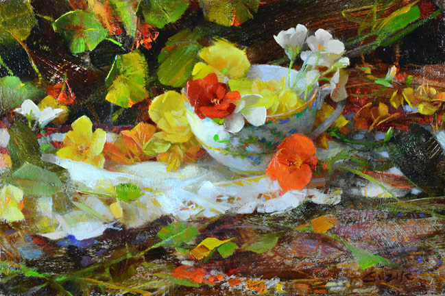 Té de Begonias, de Nancy Guzik.