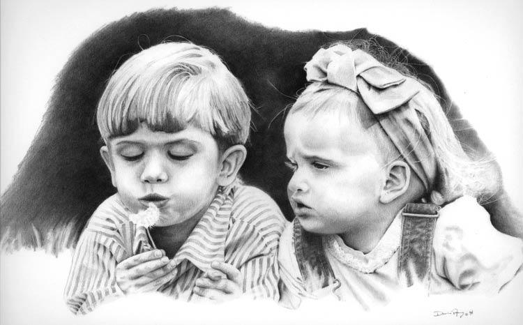Un deseo final, dibujo de niños de Darin Ashby