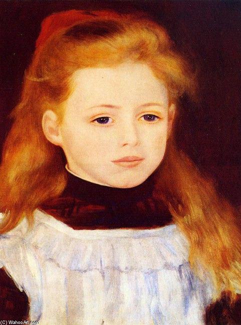 Retrato de Lucie Berard, de Pierre-Auguste Renoir.
