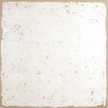 Cuadro blanco de Robert Ryman
