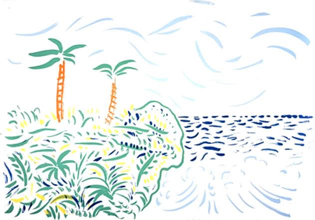 Landscape with rhythm