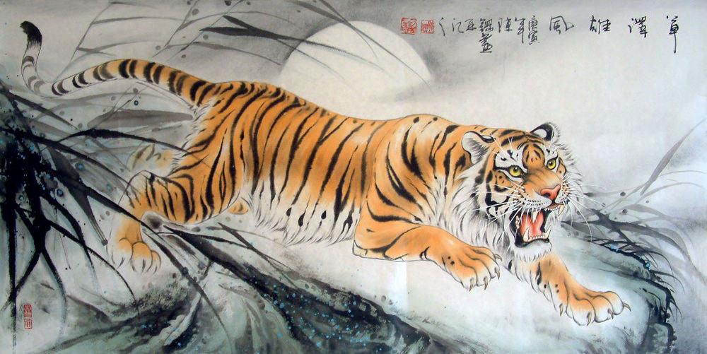 Pintura del artista chino Chen Gang