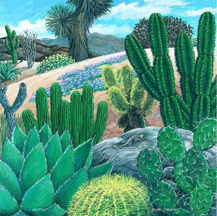 Cactuscon ritmo