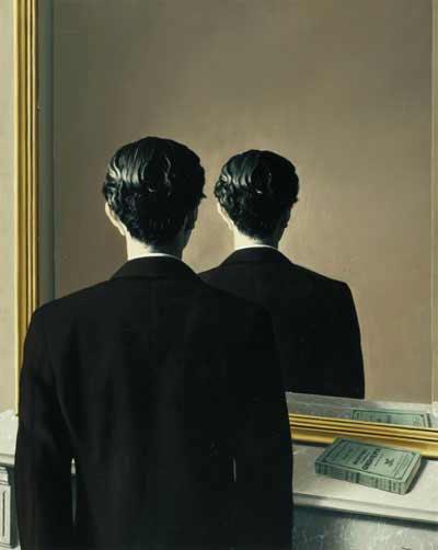 Falso espejo de Magritte