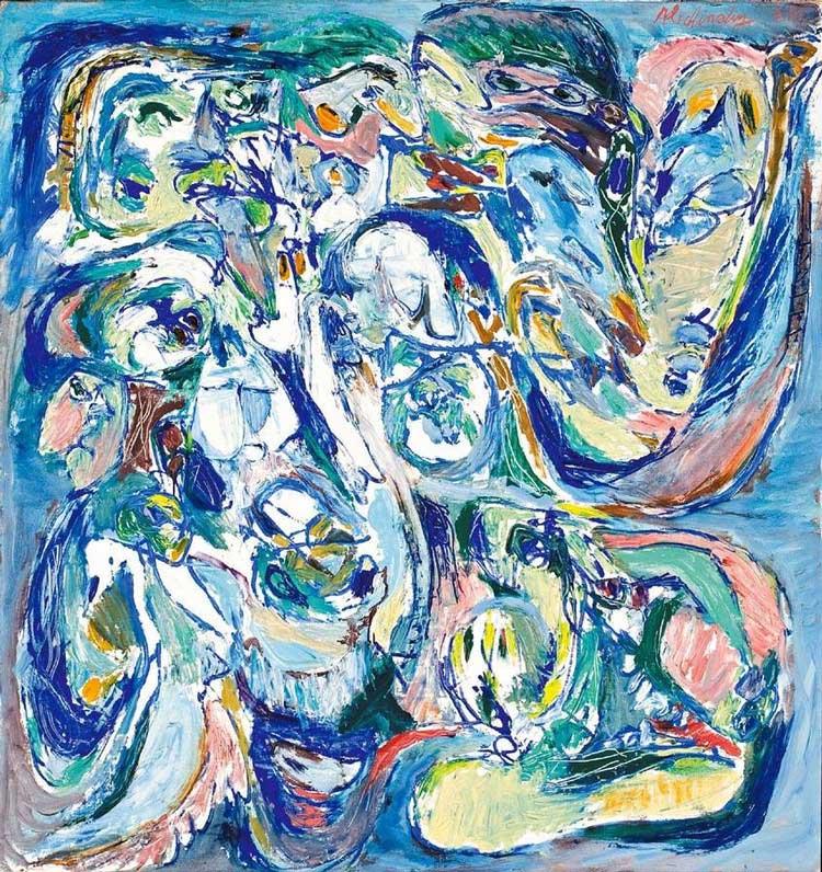 Pintura de Pierre Alechinsky