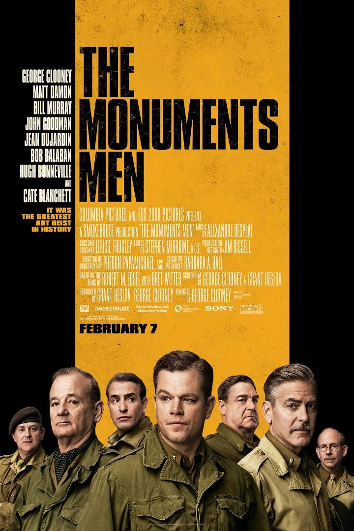 Película Monuments Men