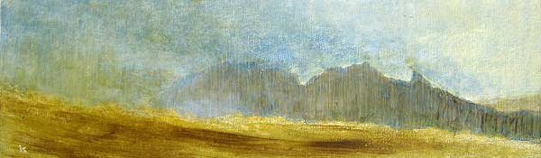 Pintura del pintor ciego Keith Salmon
